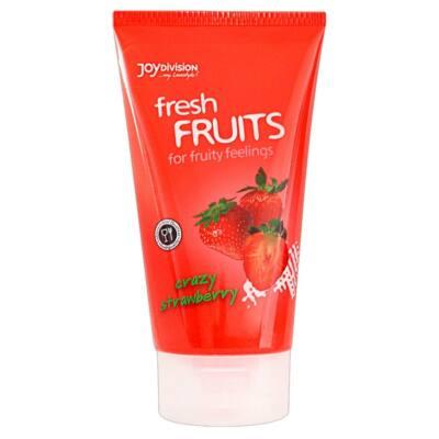freshFRUITS - jahodový lubrikačný gél - 150 ml