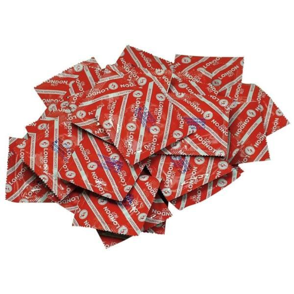Durex London kondómy - jahodová príchuť (100 ks)