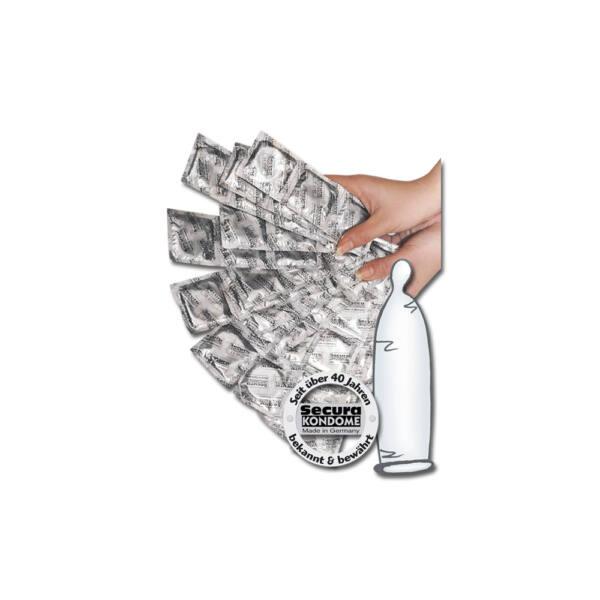 Secura kondómy - priesvitné (1000 ks)