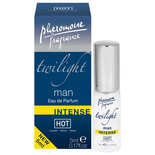 HOT Twilight Man Intense - pánsky parfém s obsahom feromónov (5ml)