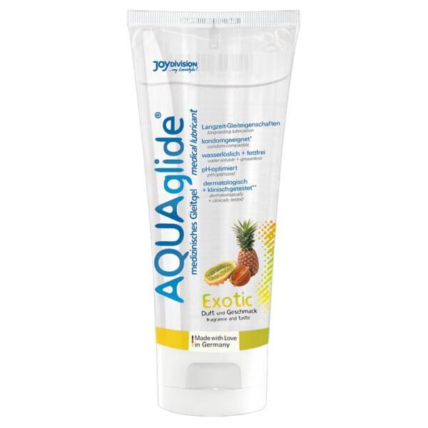 JoyDivision AQUA Glide Exotic - lubrikačný gél na báze vody tropické ovocie (100ml)