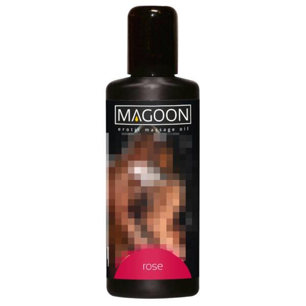 Magoon - masážný olej - ruža 100ml