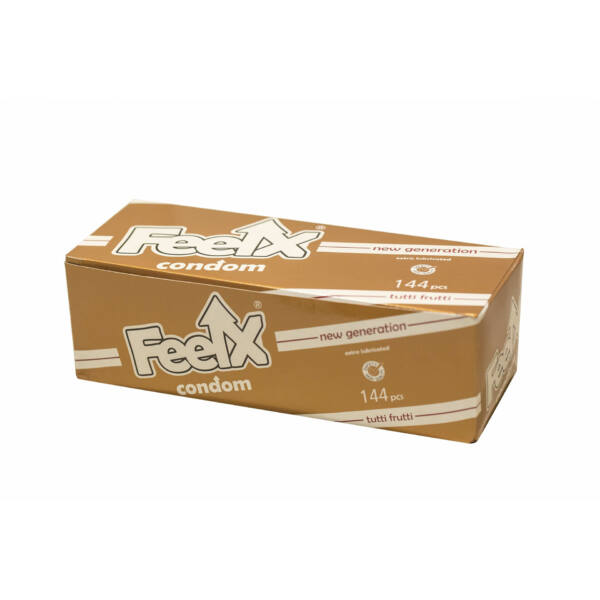 FeelX kondóm - tutti-frutti (144 ks)
