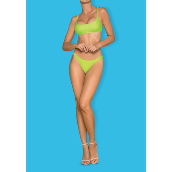 Obsessive neon green bikini