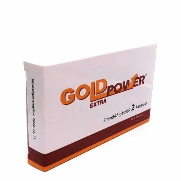 GOLD POWER EXTRA FOR MEN - 2pcs