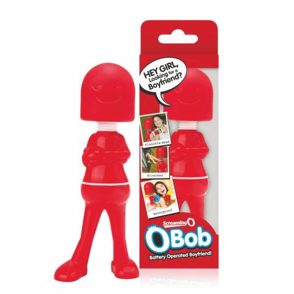Screaming Bob Wand – masážny vibrátor (červený)