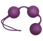 Velvet fialové guličky rozkoše - trio