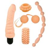 Nature Skin Lovers Kit - erotická súprava pomôcok (5 dielna)