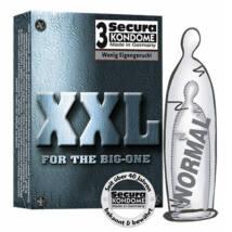 Secura kondómy - XXL (3 ks)