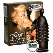 Secura kondómy - tmavá túžba (24 ks)