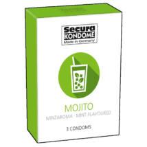 Secura Mojito condom (3pcs)
