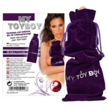 You2Toys My Toy Boy - zamatové vrecúško fialovej farby