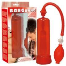 Bang Bang vákuová pumpa - červená
