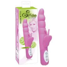 Sweet Smile Fancy - vibrátor s ramenom na klitoris ružovej farby