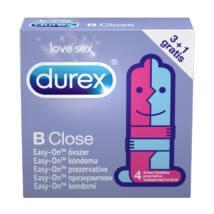 Durex Be Close - extra klzké kondómy (4 ks)