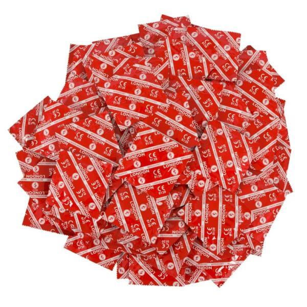 Durex London kondómy - jahodová príchuť (50 ks)