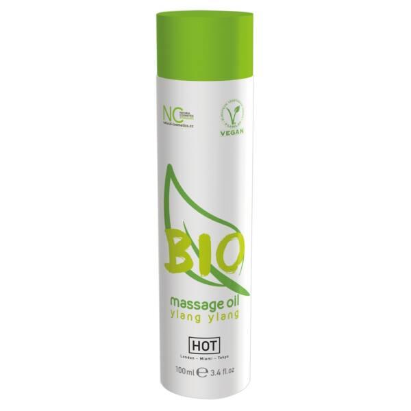 HOT BIO - Vegan Massage Oil - ylang ylang (100ml)