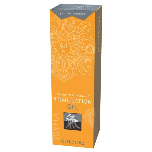HOT Shiatsu - Clitoris Stimulating Cream - Ginger Cinnamon (30ml)