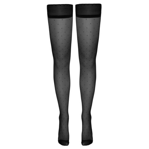 Cottelli - Tiny Spotted Thigh (Black)