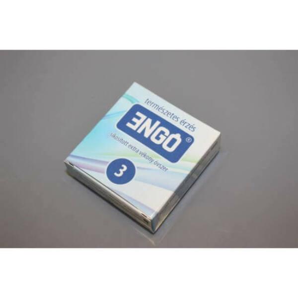 ENGO - lubrikované extra tenké kondómy (3ks)