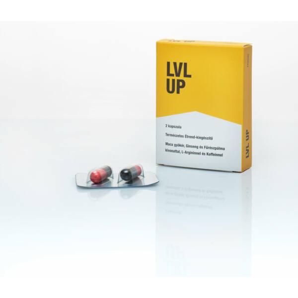 LVL UP – prírodný výživový doplnok pre mužov (2ks)