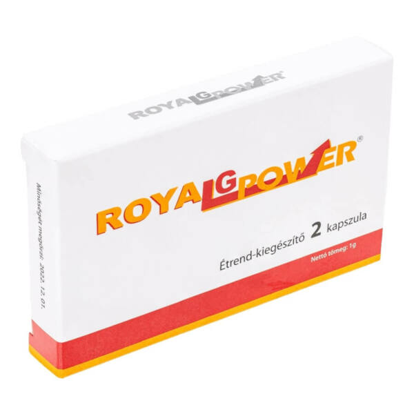 ROYAL G POWER - food supplement capsules for men (2pcs)
